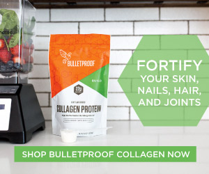 Bulletproof 22g protein Collagen from pasture-raised cows Supports bones, joints, skin and hair