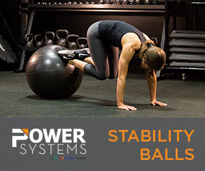Power Systems Exercise Equipment Stability Balls