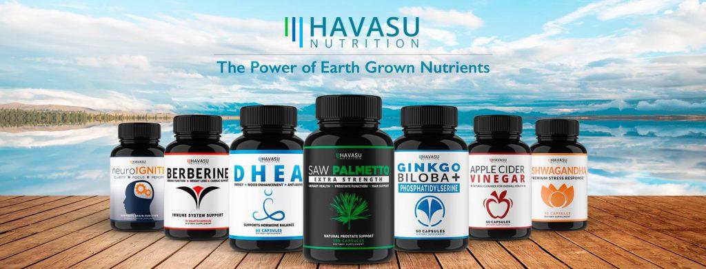 Havasu Nutrition -100% Natural Remedies